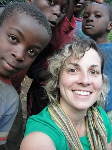 Amy Ernst, social worker in the Congo