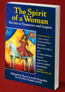 "Terry Laszlo-Gopadze's book, ""The Spirit of a Woman"""