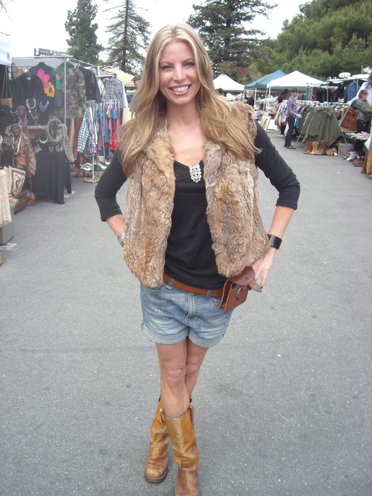 Shauna at Fleamarket