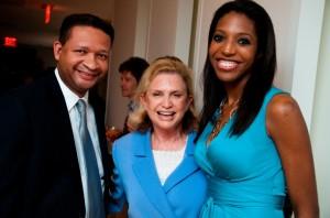 Keli and Rep. Carolyn Maloney and former Rep. Artur Davis