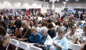 Audience at Women's Expo