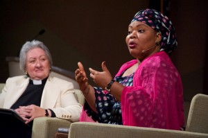 Gbowee and Rev. Guibord