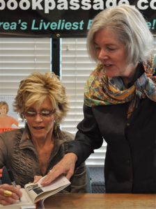 Jane and Elaine Petrocelli at Book Passsage