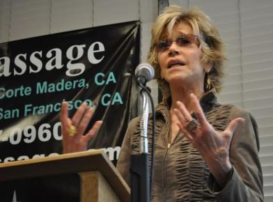 Jane Fonda at Book Passage