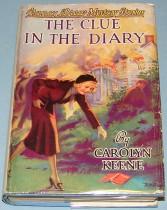 Nancy Drew mystery book