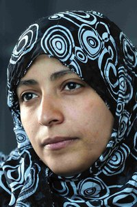Tawakul Karman, winner of Nobel Prize