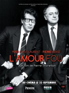 Yves St. Laurent and Pierre Berge from L'Amour Fou movie