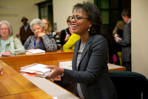 Anita Hill at Library Event and Book signing