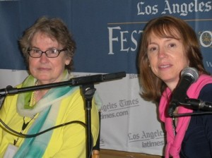 Authors Carolyn and Lisa See