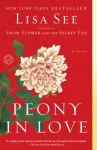 Lisa See book, Peony in Love