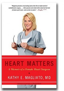 "Dr. Kathy Magliato ""Heart Matters"" book cover"