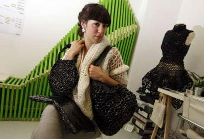 Lucrecia Lovera VHS Handbag Designer