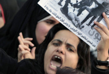 Egypt Women March, Protest