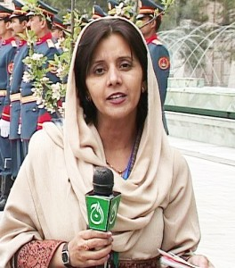 Farzana Ali in Kabul covering the Pakistan Peace Talks