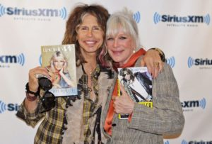 Linda with Steven Tyler