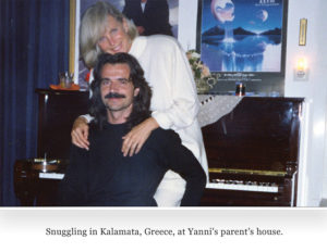 Linda with Yanni