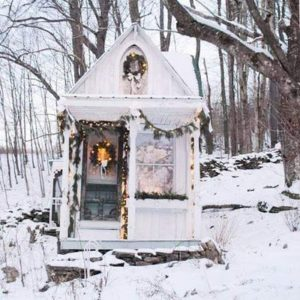 Sandy Foster's Original Tiny House on the Hill