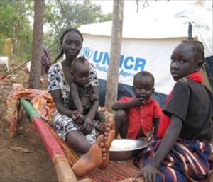 South Sudan Women and Children for TWE Top 10