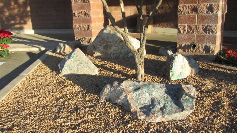 Safeway Boulders for the 1/8/11 Tragedy: Photo--Pamela Burke