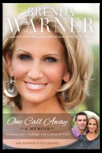"Brenda Warner's book ""One Call Away"""