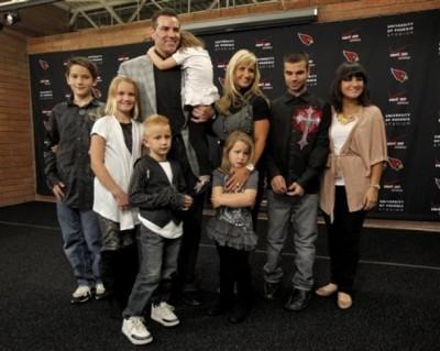 Brenda Warner and family