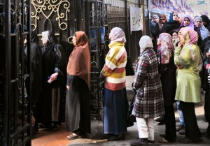 Egyptian Women Call for Real Change