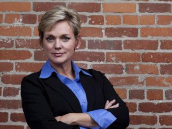 Jennifer Granholm, host of The War Room for Current TV