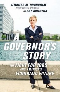 "Former Governor Jennifer Granholm's book ""A Governor's Story"""