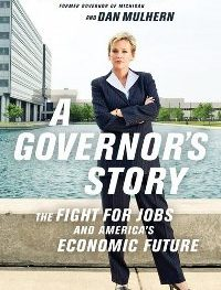 "Former Governor Jennifer Granholm's book ""A Governor's Story"""