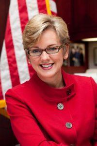 Jennifer Granholm, x governor of Michigan, host Current TV