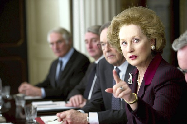 "Meryl Streep as Margaret Thatcher in ""The Iron Lady"""