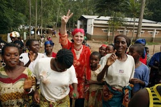 Eve Ensler Visiting the Congo