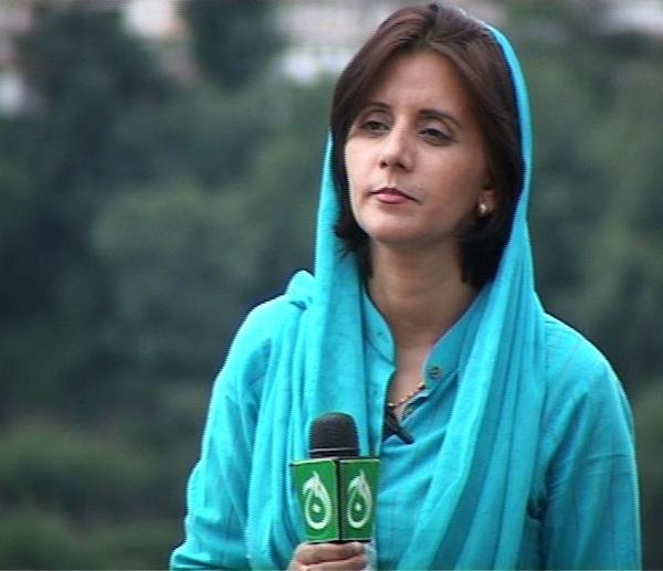 Farzana Ali, Pakistani journalist: photo from Farzana Ali