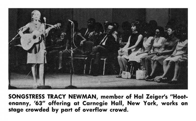 Tracy Newman at Carnegie Hall