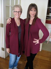 Tracy and sister Laraine