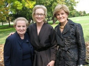 Women's History Museum Supporters including Meryl Streep