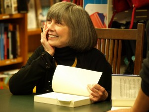 Anne Rice, author; photo from Anne Rice's office