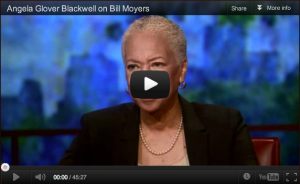 Angela Grover Blackwell in conversation with Bill Moyers for Top 10; Via Anita Jones at PeachSeedMonkey