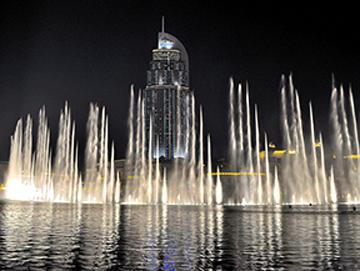 Burj Khalifa Fountain, Photo by James Sullivan