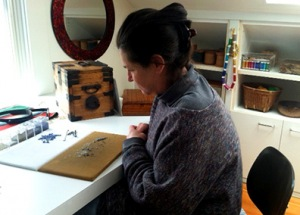 Claire Kahn, designer