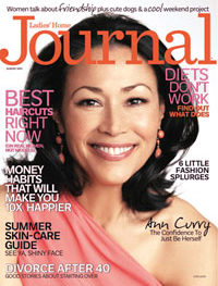 Ladies Home Journal with Ann Curry