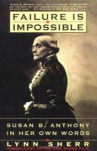Lynn Sherr book on Susan B. Anthony