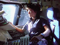 Astronaut Sally Ride for TWE Top 10 | Photo: Nasa / Reuters from NBC article