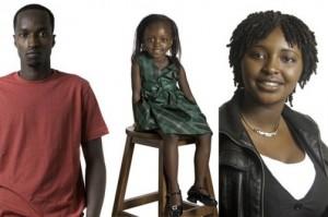 African Survivor of a Massacre: Photo/Uwiringiy'imana/Ngabo