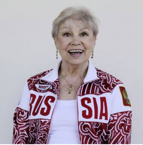 Larisa Latynina, unbeaten Olympian for 48 years | Photo: Justin Sutcliffe for Top 10