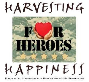 Lisa Kamen Harvesting Happiness for Heroes