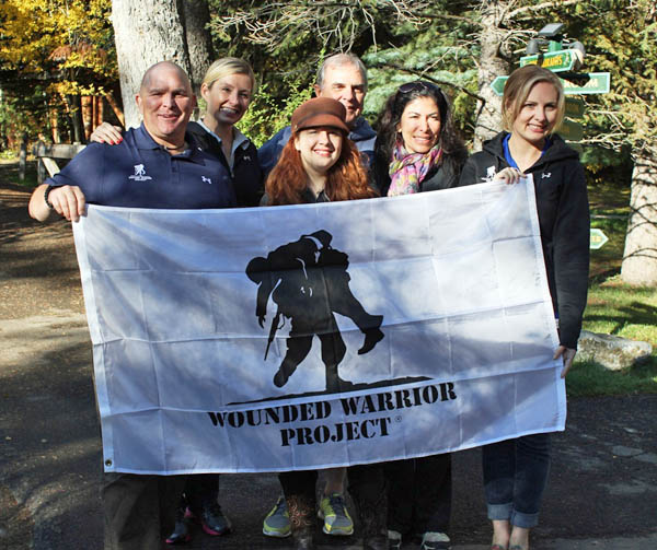 Lisa Kamen and the Wounded Warrior Project
