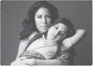 Lisa Kamen and daughter Kayla