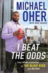Michael Oher, The Blind Side book