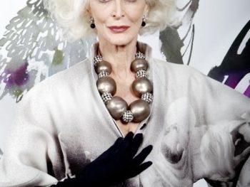 Supermodel Carmen Dell'Orefice/Photo; Elizabeth Lippman